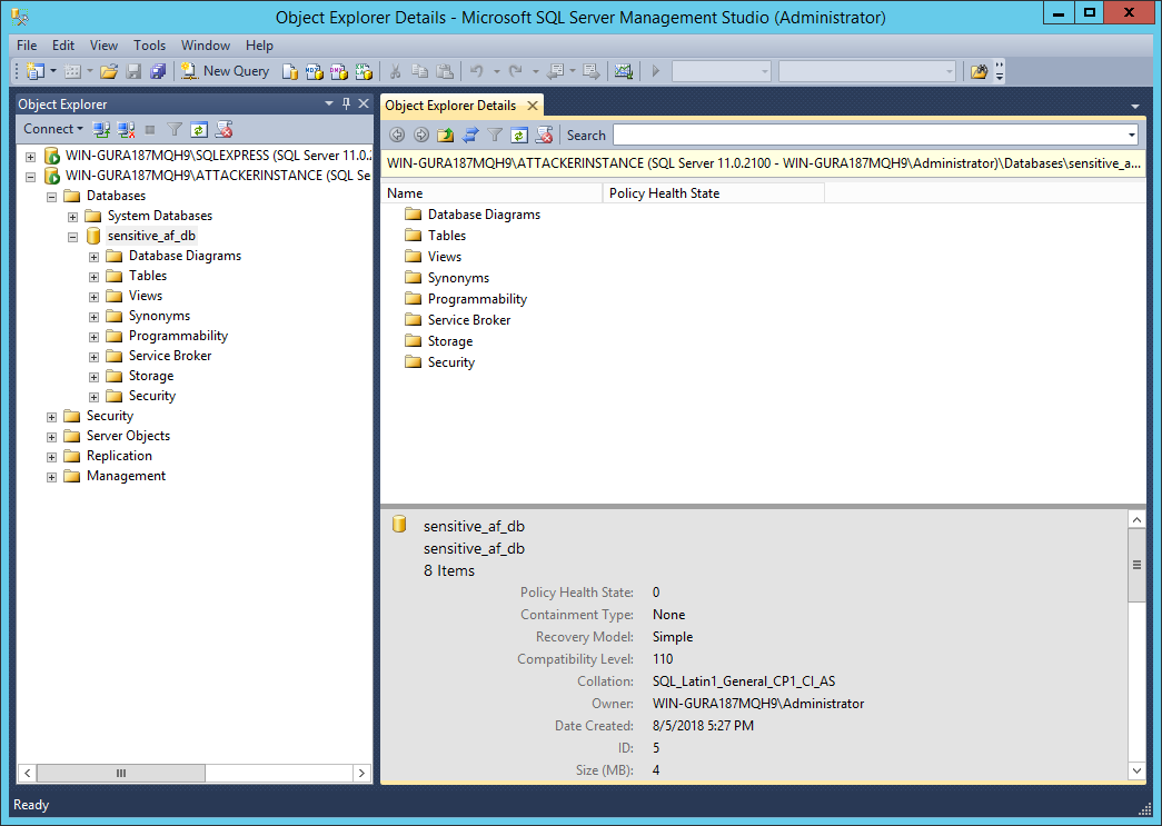 From LFI to SQL Database Backup | rastating github io