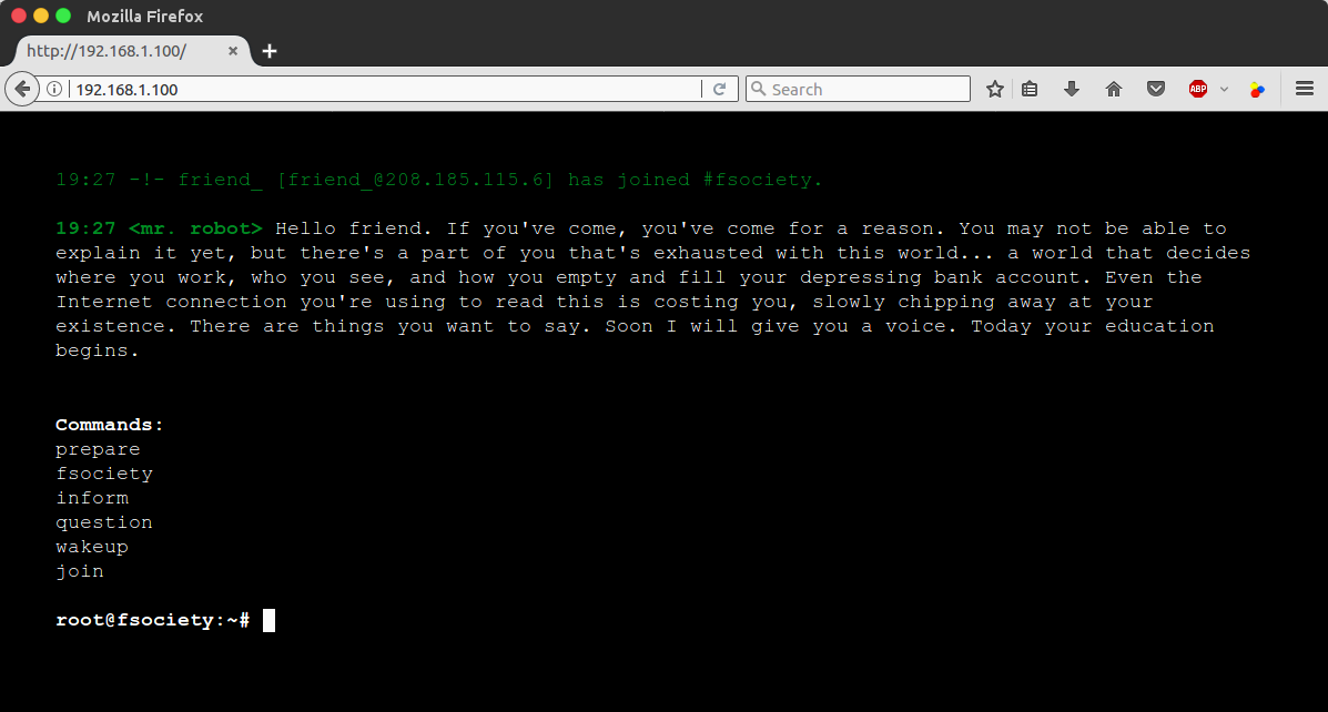 How I Hacked Mr  Robot (CTF Walkthrough) | rastating github io