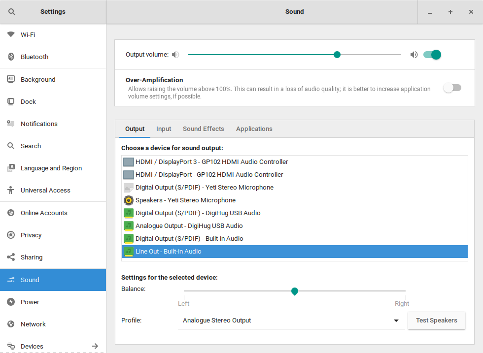 Setting Default Audio Device in Ubuntu 18 04 | rastating