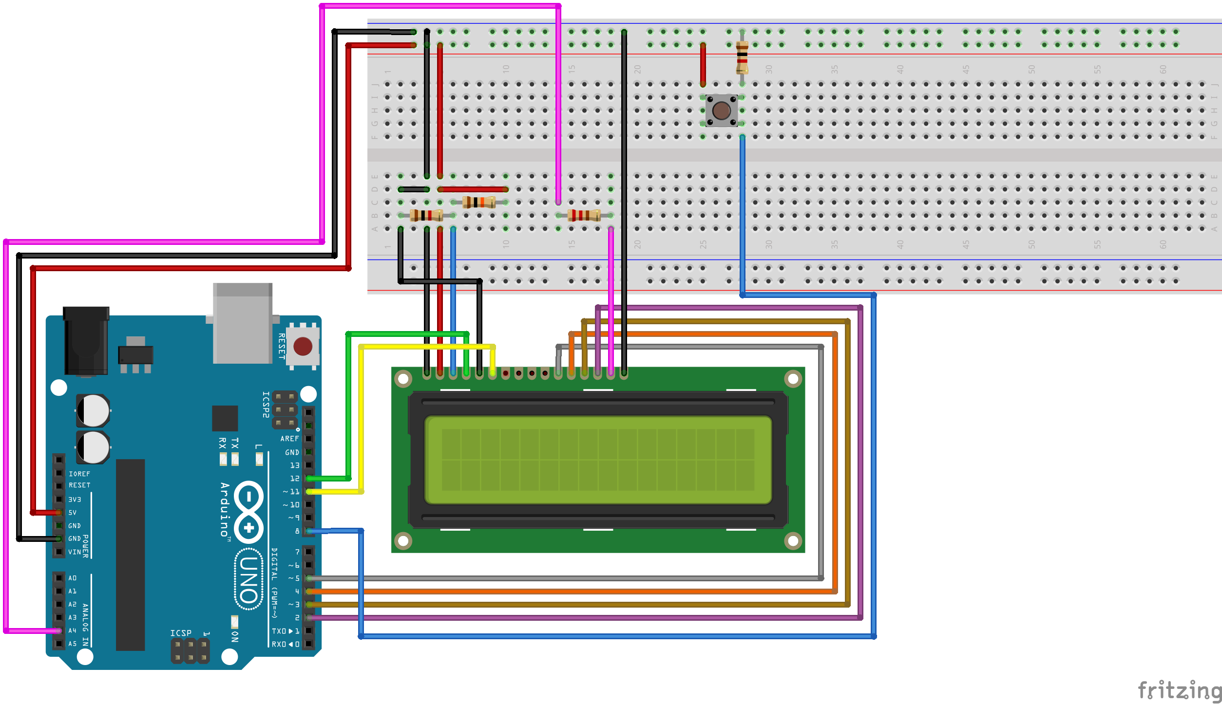 [SCHEMATICS_4LK]  Toggling the Backlight of HD44780 LCDs with an Arduino Uno |  rastating.github.io | Lcd Light Wiring Diagram |  | Rastating